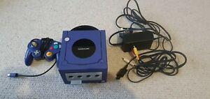 Nintendo Gamecube Pal Purple Console Complete