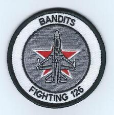 VF-126 BANDITS F-16 patch