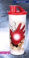 Tupperware Marvel Avengers Iron Man Kids Boys Large Red Tumbler Cup 15 OZ