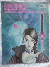 DIFFERENT WORLDS #15 (Chaosium 1981) Traveller/D&D/RuneQuest/TFT • Mint/Unread!