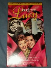 A TRIBUTE TO LUCY (LUCILLE BALL)  [ NEW AND SEALED VHS]