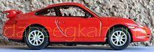 """Real-X - Porsche 911 GT3 - Die-Cast - Rubber Tires - Scale 1:72 - 2 1/2 """" Length"""