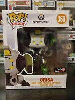"""Funko Pop! Games Overwatch Orisa #360 Gamestop Exclusive 6"""" Inch Vinyl Figure"""