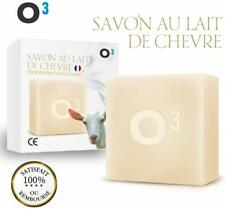 O³ Savon Lait de Chevre-Savon Exfolliant fait main-Combat wacné soulage l'eczéma