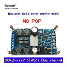 50Wx2 Bluetooth Digital Dual Channel Audio Power Amplifier Module With Case JZUS