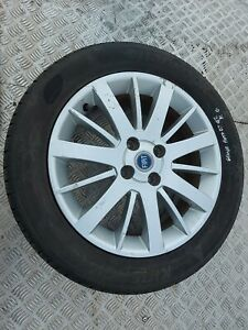 Fiat grande punto 2007 alloy wheel and tyre 195 55 16 #g2 a1