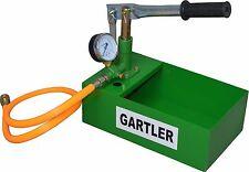 Befüllpumpe GARTLER, 25 bar mit Behälter Handpumpe Solarpumpe Testpumpe Heizung