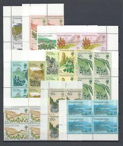 TRISTAN DA CUNHA 1972 SG 158/69 MNH Blocks of 4 Cat £72