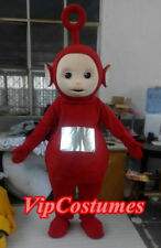 Teletubbies TV Cartoon Red Teletubby Mascot Costume cosplay Fancy Dress