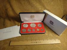 1976 Papua New Guinea Proof 8-Coin Set - Free S&H Usa