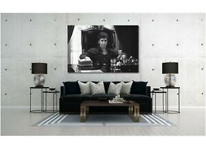 Scarface Al Pacino Movie Painting Canvas Print Art Home Decor Wall