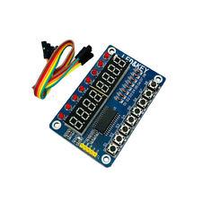 8-Bit LED 8-Bit Digital Tube 8 KeyS TM1638 Display module for AVR Arduino ARM CA