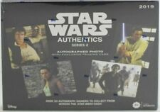 Topps 2019 Star Wars Authentics Series 2 Autographed Photo and Trading Card Box