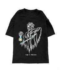 Warren Lotas Time Is Precious Tee T-Shirt Black size Medium
