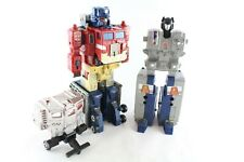 Transformers G1 Cybertron C-307 Super Ginrai Victory & God Bomber
