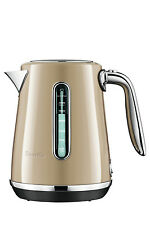 NEW Breville The Soft Top Luxe Kettle: Royal Champagne: BKE735RCH