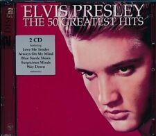 Elvis Presley The 50 Greatest Hits 2-disc CD NEW In The Ghetto Teddy Bear
