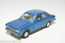 DINKY TOYS 168 FORD ESCORT METALLIC BLUE NEAR MINT CONDITION