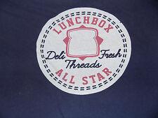 LunchBox All Star Deli Fresh Threads T Shirt Size Large Blue