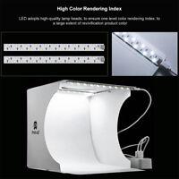 40Pcs LED lights Studio Photography Light Box Lighting Cube Tent 5  Kit Corlors
