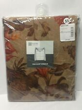 Brand New JCPENNEY ONE SCARF VALANCE HOME COLLECTION Paradise Print 50 X 216