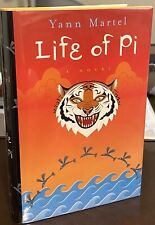Yang Martel LIFE of PI 1st Canadian Edition SIGNED TRUE 1st STUNNING, MINT COPY!