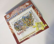 """Awesome NEW America's Story """"BASEBALL STADIUMS OF AMERICA"""" Jigsaw Puzzle."""