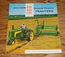 1959 - 1960 John Deere 530 630 730 General Purpose Tractor Sales Brochure 59 60