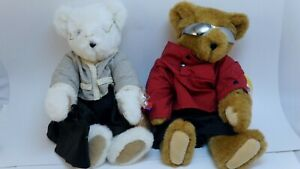 Vintage Vermont Teddy Bear Co. lot of 2. 1990s With tags