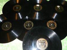 78 RPM Vinyl Records Bing Crosby