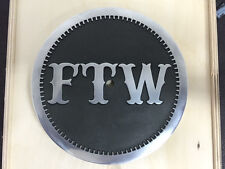 FTW ,HARLEY AIR CLEANER COVER  K&N , ALUMNUM