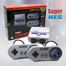 Super Nintendo S NES System Classic Edition Mini Bundle Kit+21 Games
