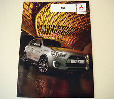 Mitsubishi . ASX .  Mitsubishi ASX . July 2015 Sales Brochure