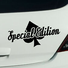 Special edition tuning Fun sort des autocollants sticker voiture autocollant JDM 20cm