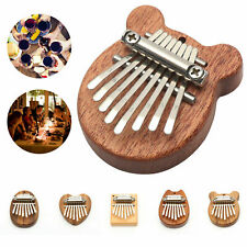 More details for mini 8 keys kalimba thumb piano nice sound finger keyboard musical hand toy gift