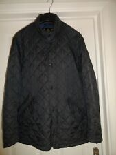 Mens Barbour Chelsea Flyweight Quilted Jacket Size Medium Navy