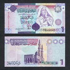 LIBYA 1 DINAR 2013 BUNDLE UNC CONSECUTIVE PACK 100 PCS P 76 REVOLUTION