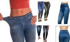 NUOVO SLIM N LIFT CARESSE Jeans Effetto Jeggings/Leggings Shapewear elastico & Morbida