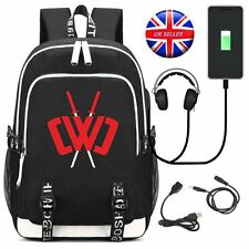 CWC Youth CHAD WILD CLAY USB Backpack Shoulder Bag School Rucksack Student Bag