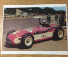 """Bob Sweikert 1955 Indy 500 John Zink Special Reprint 8.5x11"""" Photo"""