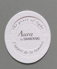 Carte à parfumer  - perfume card  - Aura de Swarovski