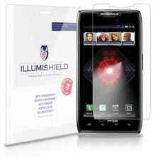 iLLumiShield Anti-Bubble/Print Screen Protector 3x for Motorola Droid RAZR MAXX