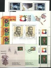 SLOVAKIA MNH Complete Year set 2011 WITH 21 Stamps + 2 S/S + 8 M/S + 2 Booklets