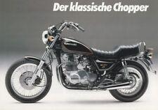 P + KAWASAKI Z 750 LTD Twin + Prospekt flyer + 1 Blatt / 2 Seiten + aus 1982?