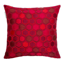 Home Sofa Bed Decor Red Cushion Pillow French Brand MADURA 40/40 cm