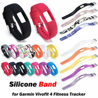 Replacement Silicone Watch Band Wrist Strap for Garmin Vivofit 4 Fitness Tracker