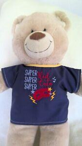 BAB Build a bear clothes to fit boys teddy top shirt 40 cm  P Patch handmade
