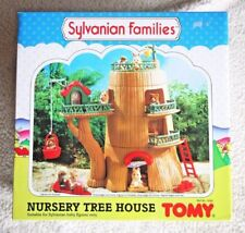 SYLVANIAN FAMILIES: NURSERY TREE HOUSE, TOMY 1985. BRAND NEW IN BOX, OLD STOCK!