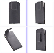 360º SWIVEL Belt Clip Loop Holster Leather Case Pouch Cover For Various Phone