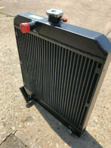 Hiab moffett radiator